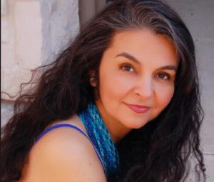 portrait of Amparo Garcia-Crow