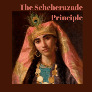 painting of Scheherazade