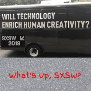 impressions from SXSW 2019