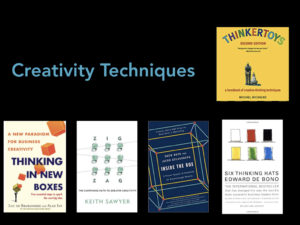 books about creativity techniques