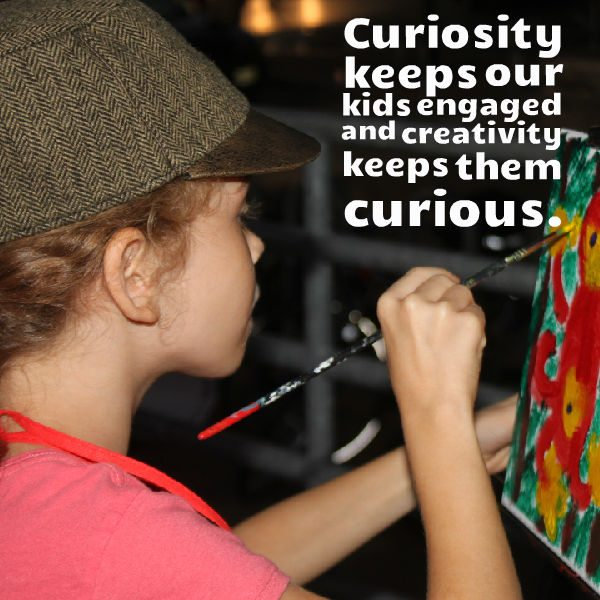 curiosity creativity